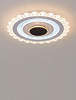 cheap -KAKAXI 50 cm Dimmable Flush Mount Lights Metal Acrylic Painted Finishes Modern 110-120V / 220-240V