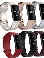 cheap -Smartwatch Band for Fitbit Charge 4/ Fitbit charge3 SE / Fitbit Charge3  Fitbit Sport Band High-end Fashion Soft comfortable Health Silicones Wrist Strap