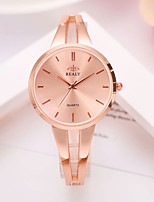 cheap -Women's Quartz Watches Elegant Fashion Silver Gold Rose Gold Alloy Chinese Quartz Rose Gold Gold Silver Casual Watch Lovely 1 pc Analog One Year Battery Life