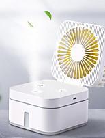 cheap -Minleaf ML-MF1 Multi-function humidifier Mini Fan Strong Wind Mute Humidification Night Light Fan