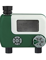 cheap -Automatic Garden Irrigation Timer Programmable Digital Watering Sprinkler System Irrigation Controller with 2 Outlet for Garden