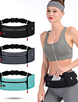 cheap -Running Belt Fanny Pack Belt Pouch / Belt Bag for Running Hiking Outdoor Exercise Traveling Sports Bag Reflective Adjustable Waterproof Waterproof Material Men's Women's Running Bag Adults