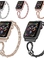cheap -Watch Band for Apple Watch Series 5 / Apple Watch Series 4/3/2/1 Apple Classic Buckle Stainless Steel Wrist Strap