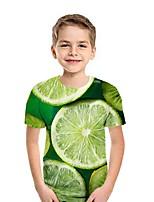 cheap -Kids Boys' Street chic Fruit Short Sleeve Tee Black