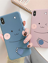 cheap -Case For Apple iPhone 11 / iPhone 11 Pro / iPhone 11 Pro Max Shockproof / Frosted Full Body Cases / Bumper Animal / Cartoon TPU