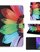 cheap -Case For Apple iPad Pro 11''(2020) / iPad 2019 10.2 / Ipad air3 10.5' 2019 Wallet / Card Holder / with Stand Full Body Cases Sunflower PU Leather / TPU for iPad Air / iPad 4/3/2 / iPad (2018)