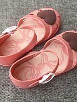 cheap -Girls' Comfort PVC Sandals Little Kids(4-7ys) Almond / Black / Red Summer