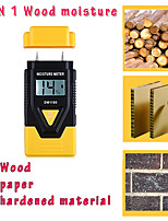 cheap -3 In 1 Digital Moisture Meter Garden Wood Paper Hardened Materials Ambient Temperature Testing Tools