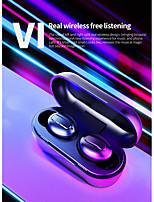 Недорогие -litbest v1 tws правда беспроводные наушники беспроводные Bluetooth 5.0 стерео с двумя драйверами с микрофоном и зарядным устройством для мобильных телефонов