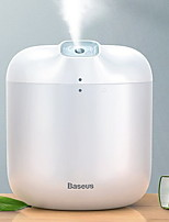 cheap -Baseus Humidifier Air Diffuser Difusor For Home Office 600 ml Large Capacity Air Humidifier Humidificador With LED Lamp