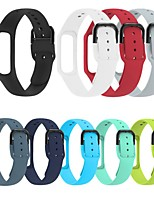 cheap -Watch Band for Samsung Galaxy Fit E SM-R375 Samsung Galaxy Sport Band Silicone Wrist Strap