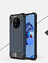 cheap -Case For Huawei Huawei P40/P40 Pro/P40 Lite/P30/P30 Pro/Nova7i/Y9 2019 Shockproof Back Cover Solid Colored TPU / Plastic