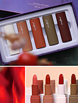 cheap -5 pcs 5 Colors Daily Makeup Kits / Rotating / Easy to Carry Matte Long Lasting / Travel / Girlfriend Gift Classic / Sweet Makeup Cosmetic Grooming Supplies