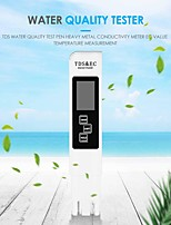 cheap -LCD Digital Desplay TDS EC Meter Pen3 In1 Multi-Function Water Quality Measurement Tool TDS&EC Tester for Drinking Water Quality Monitoring Swimming Pools Spas Aquarium Hydroponics Water 0-9990ppm