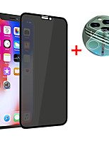 cheap -2 in 1 Private Tempered Glass For iPhone SE 2020 / 11  11Pro 11 Pro Max  X  XS  XR  XS Max Full Cover Screen Protector iPhone 8  8Plus  7  7Plus  6Plus  6  6S Anti-spy Glass