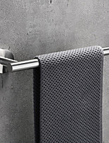 cheap -Towel Bar New Design / Adorable / Creative Contemporary / Modern Stainless Steel / Low-carbon Steel / Metal 1pc - Bathroom Wall Mounted