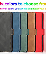 cheap -Retro Magnetic Flip Leather Stand Wallet Phone Case For iPhone 11 11 Pro 11 Pro SE 2020 X XS XR XS Max 8 8 Plus 7 7 Plus 6 6 Plus