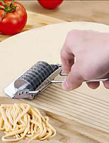 cheap -Noodle Lattice Roller Docker Dough Cutter Pasta Stainless Steel Spaghetti Maker Garlic Press