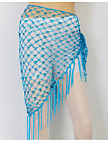 cheap -dance accessories women's stretch yarn hip scarf