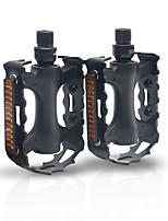 cheap -mi.xim Bike Pedals Safety Convenient Sports 2 Bearing Aluminum Alloy Cr-Mo for Cycling Bicycle Road Bike Mountain Bike MTB BMX Black