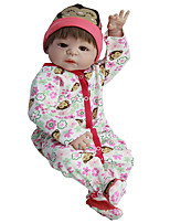 cheap -Reborn Baby Dolls Clothes Reborn Doll Accesories Cotton Fabric for 22-24 Inch Reborn Doll Not Include Reborn Doll Monkey Soft Pure Handmade Girls' 3 pcs