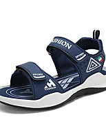 cheap -Boys' Slingback Canvas Sandals Little Kids(4-7ys) / Big Kids(7years +) Walking Shoes Green / Blue / Dark Blue Summer / Fall / Color Block