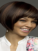 cheap -Synthetic Wig kinky Straight Pixie Cut Wig Short Light Brown Synthetic Hair 12 inch Women's Fashionable Design Life Women Light Brown