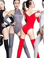 cheap -Zentai Suits Catsuit Skin Suit Ninja Adults' Cosplay Costumes Ultra Sexy Women's Halloween Valentine's Day / Leotard / Onesie