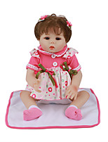 cheap -FeelWind 18 inch Reborn Doll Baby & Toddler Toy Reborn Toddler Doll Baby Girl Gift Cute Lovely Parent-Child Interaction Tipped and Sealed Nails Full Body Silicone LV020 with Clothes and Accessories