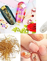 cheap -1 pcs Multi Function / Creative Metalic Nail Jewelry For Finger Nail Creative nail art Manicure Pedicure Party / Evening / Festival Sweet / Fashion