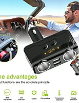 cheap -Car Ci garette Lighter Double USB Charger Without Cigarette Butts