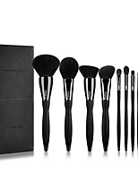 cheap -Professional Makeup Brushes 10pcs Professional Soft Full Coverage Artificial Fibre Brush Plastic for Blush Brush Foundation Brush Makeup Brush Lash Brush Eyebrow Brush Eyeshadow Brush