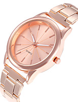 cheap -Women's Quartz Watches Quartz Stylish Fashion Casual Watch Silver / Rose Gold Analog - Rose Gold Gold Silver One Year Battery Life