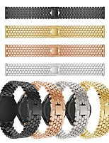 cheap -Replaced Stainless Steel Watch Band Fish Scale Pattern Wrist Strap Bracelet for Asus ZenWatch 2 / Asus ZenWatch / Pebble Time Asus Accessories Kit