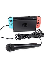 cheap -Wired Microphones For Nintendo Switch / Nintendo Switch Lite Creative Microphones ABS+PC 1 pcs unit