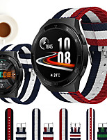 cheap -Nylon Wrist Strap Watch Band for Huawei Watch GT 2e / Honor Magic Watch 2 46mm / 42mm / GT2 46mm / GT2 42mm / GT Active / Watch 2 Pro / Watch 2 Replaceable Bracelet Wristband