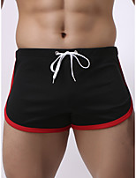 cheap -Men's Basic Boxers Underwear - Normal Low Waist Light Blue White Black M L XL