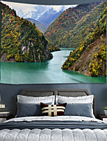 cheap -Home Living Tapestry Wall Hanging Tapestries Wall Blanket Wall Art Wall Decor forest Tree Tapestry Wall Decor