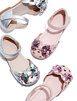 cheap -Girls' Comfort PVC Sandals Little Kids(4-7ys) Pink / Silver Summer