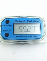 cheap -Digital Turbine Flow Meter Flowmeter Gauge Caudalimetro Electronic Flow Indicator Sensor Counter Petrol Fuel Plomeria Water DN25