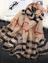 cheap -Short Sleeve Scarves Chiffon / Imitation Silk Wedding / Party / Evening Shawl & Wrap / Women's Scarves With Solid