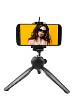 cheap -Universal Mobile Phone Tripod Portable Compact Self-Stick Phone Camera Stand Holder