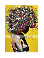 cheap -Modern Graffiti Wall Art Canvas Posters and Prints Art Girls Colorful Canvas Paintings on The Wall Pictures Room Home Decor