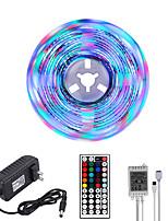cheap -MASHANG Bright RGBW LED Strip Lights 5M RGBW Tiktok Lights 1170LEDs SMD 2835 with 44 Keys IR Remote Controller and 100-240V Adapter for Home Bedroom Kitchen TV Back Lights DIY Deco