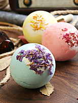cheap -6Pcs Soap Handmade Essential Oil Soap Moisturizing Bath Salt Soap Bubble Shower Bombs Ball Body Cleaner Spa