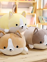 cheap -1 pcs Stuffed Animal Pillow Plush Doll Plush Toy Plush Toys Plush Dolls Stuffed Animal Plush Toy Welsh Corgi Soft Plush Fabric Plush Imaginative Play, Stocking, Great Birthday Gifts Party Favor