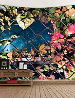cheap -Vine Branches Covered With iron Mesh Digital Printed Tapestry Decor Wall Art Tablecloths Bedspread Picnic Blanket Beach Throw Tapestries Colorful Bedroom Hall Dorm Living Room Hanging