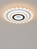 cheap -LED Acrylic Ceiling Light 50 cm Round Dimmable Flush Mount Lights  Bedroom Kids Room Home Office Modern 110-120V / 220-240V