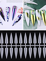 cheap -1 set Plastics Ergonomic Design Multi Function Simple Basic Office / Career Daily Artificial Nail Tips for Finger Nail / Romantic Series