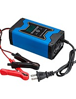 cheap -12V automatic car charger intelligent maintenance pulse charger LCD monitor motorcycle charger